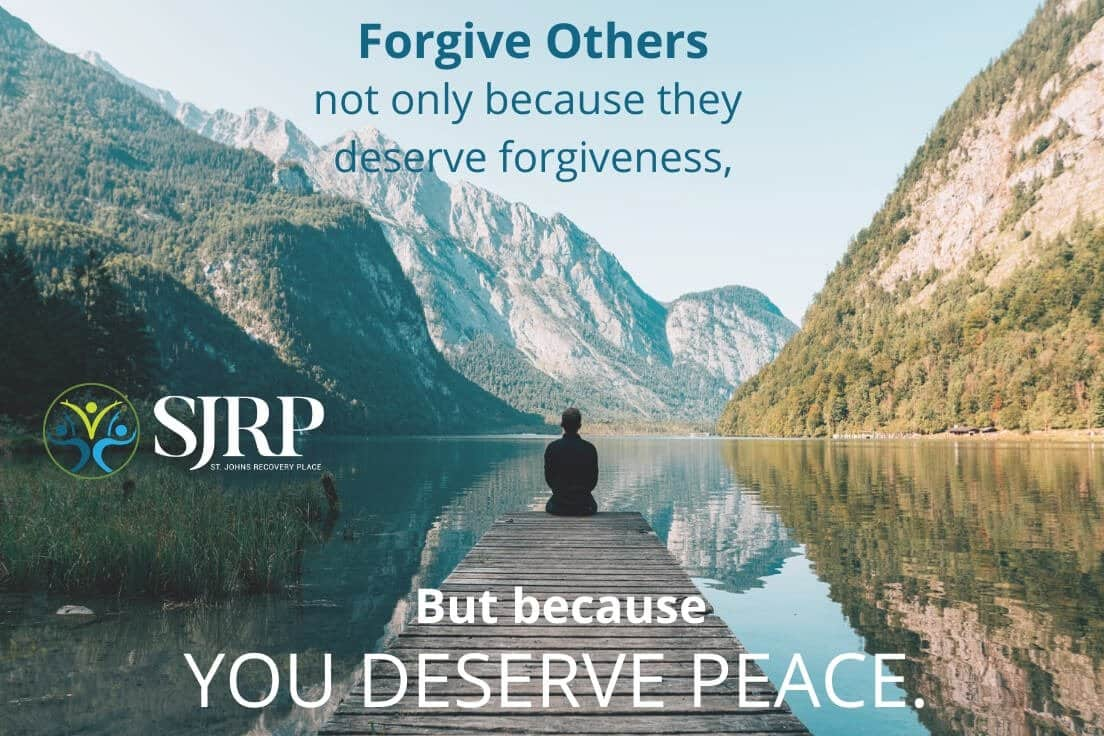 forgiveness in recovery is a journey